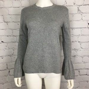 Anthropologie Lumiere Women's Blouse S Gray